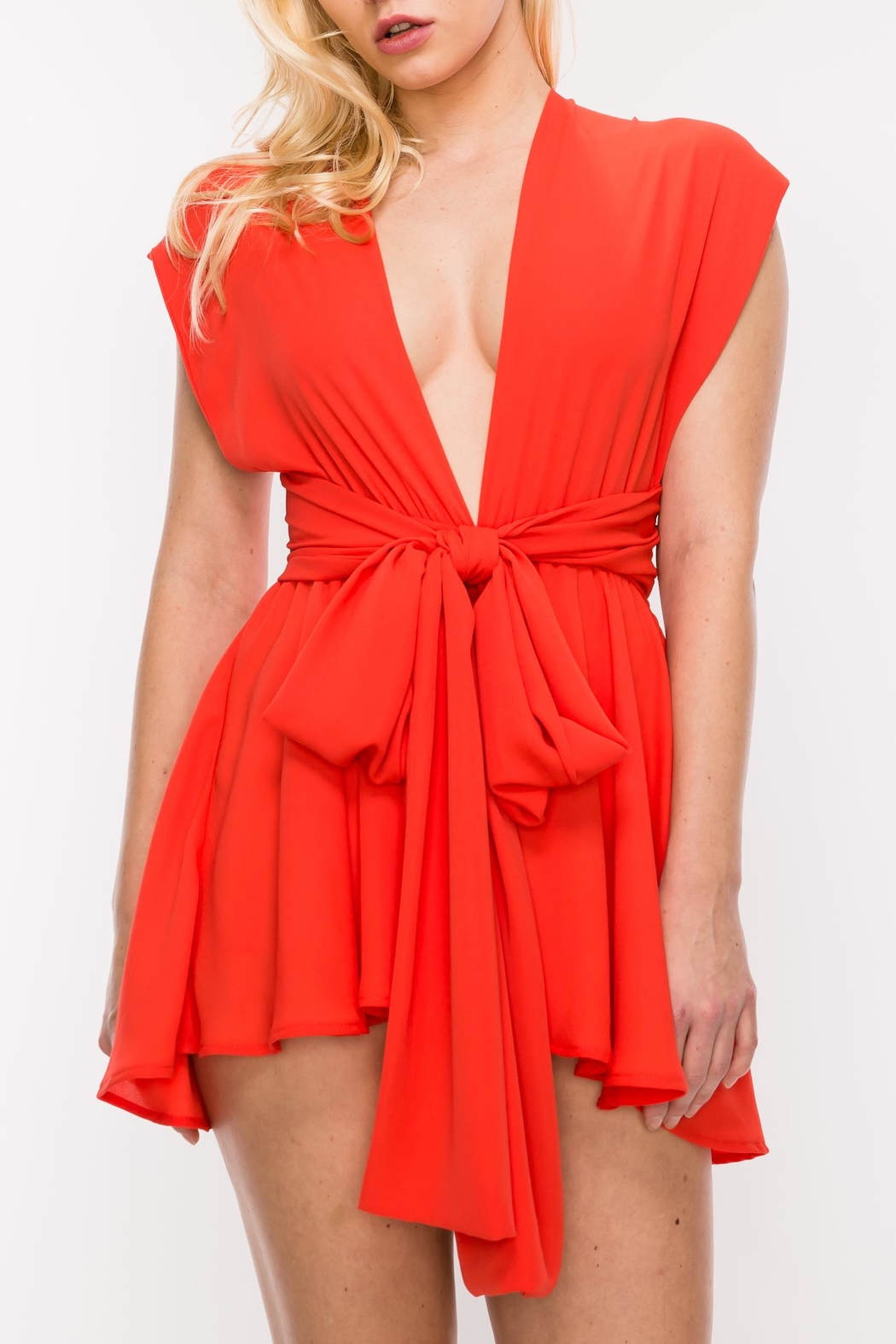 HYFVE Three Way Romper - Front Cropped Image