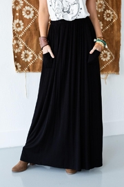 Three Bird Nest Maxi Skirt With Pockets - Front cropped