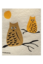 three bluebirds Swedish Washtowel Owl - Product Mini Image