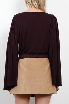Three Dots Bell Sleeve Top - Alternate List Image
