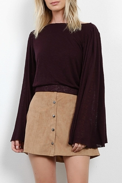 Three Dots Bell Sleeve Top - Product List Image
