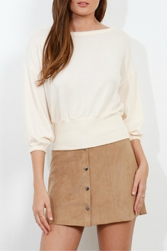Shoptiques Product: Brushed Balloon Sweater