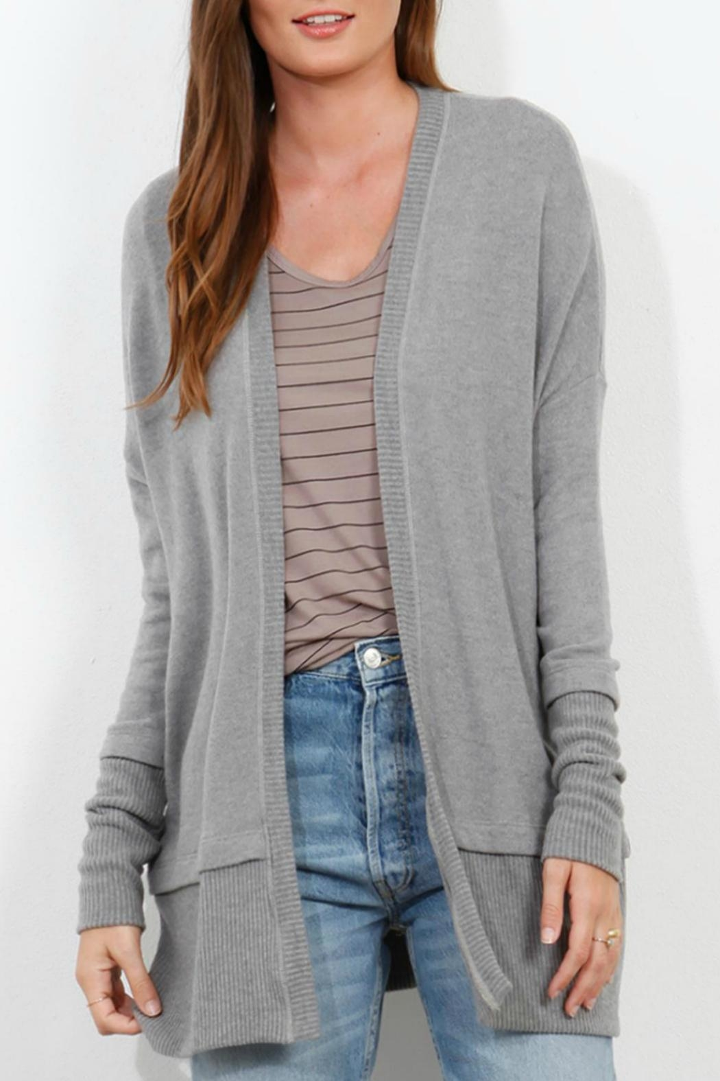 Three Dots Brushed Sweater Cardigan from Idaho by Ruby Lou ...
