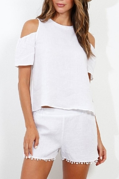 Shoptiques Product: Linen Cold Shoulder
