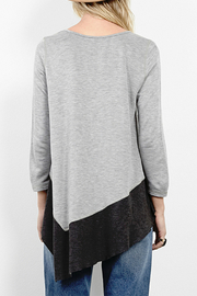 Three Dots Reversible Asymmetric Tunic - Side cropped