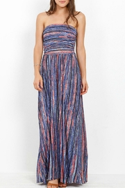 Three Dots Strapless Maxi Dress - Front cropped