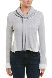 Three Dots Terry Crop Sweatshirt - Product Mini Image