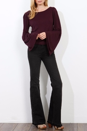 Three Dots Wide Sleeve Sweater - Front full body