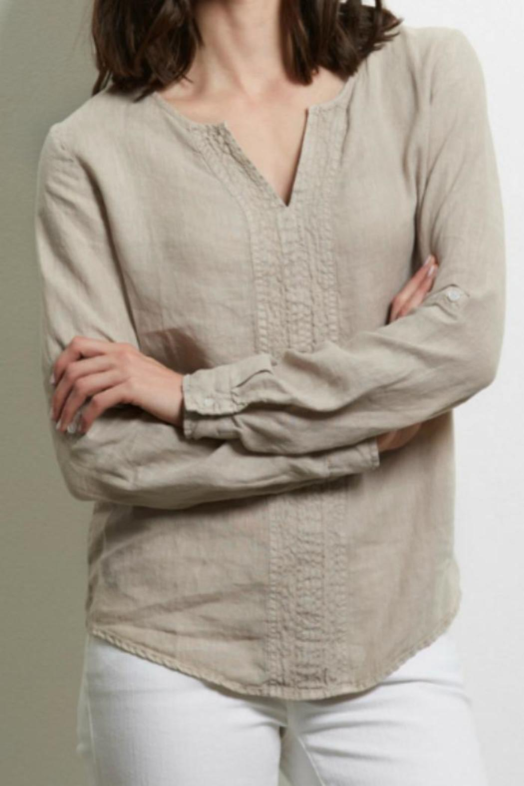 cea98314f4a Three Dots Yana Linen Top from Seattle by Lulu Boutique — Shoptiques