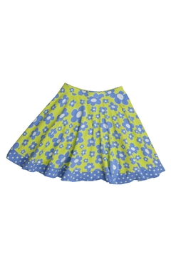 Shoptiques Product: Blue Flower Skirt