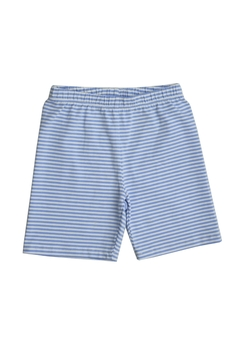 Shoptiques Product: Blue & White Stripes Shorts
