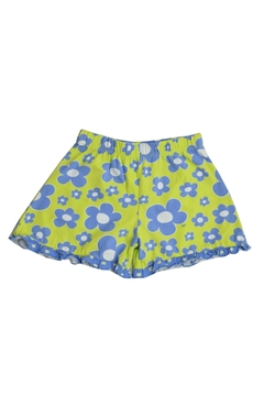 Shoptiques Product: Flower Ruffle Shorts