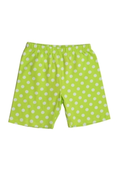 Shoptiques Product: Lime Polkadots Shorts