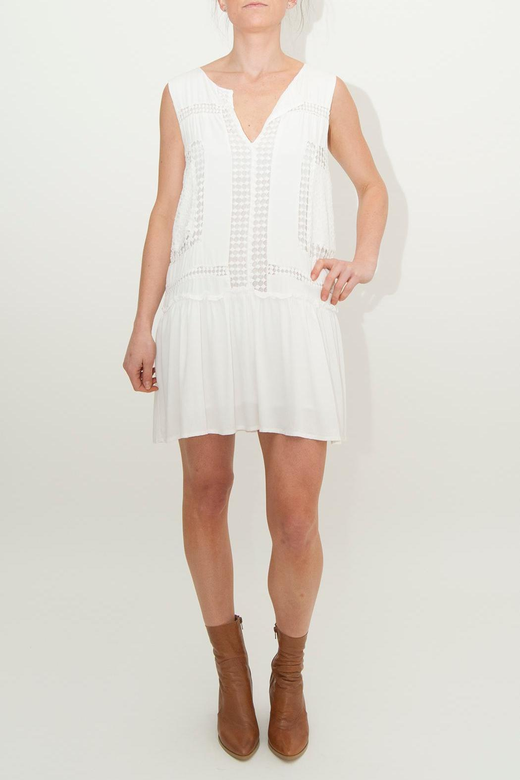 Three of Something  Oasis Drop-Waisted Dress - Front Full Image