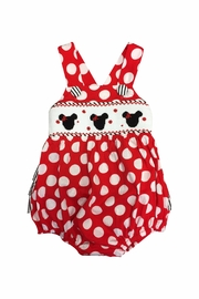 Banana Split Smocked Minnie Bubble - Product Mini Image