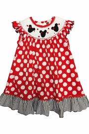 Banana Split Smocked Minnie Dress - Product Mini Image