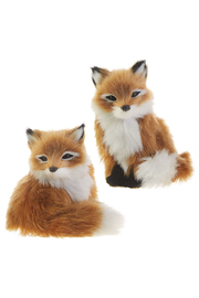 RAZ Imports Through The Woods Fox Ornament - Front cropped