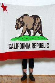 In2Green California State Flag Throw - Product Mini Image