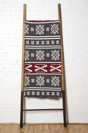 In2Green Fair Isle Skis Throw - Front cropped