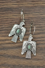 JChronicles Thunderbird Natural-Turquoise Earrings - Product Mini Image
