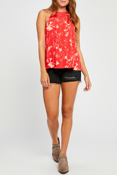 Gentle Fawn Thurlow Print Halter Top - Product List Image