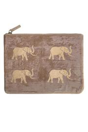 Thurston Reed Taupe Elephant Pouch - Product Mini Image