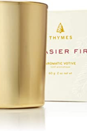 Thymes Frasier Fir Gilded Poured Candle Petite - Product Mini Image