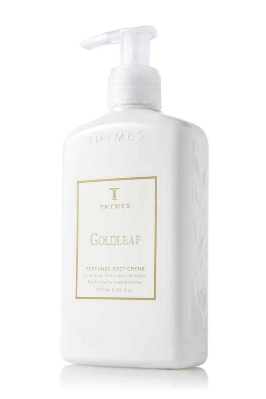 Thymes Goldleaf Body Creme - Front Cropped Image
