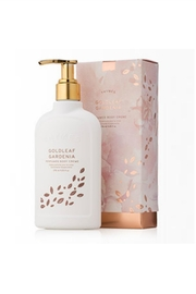Thymes Goldleaf Gardenia Body Creme - Product Mini Image