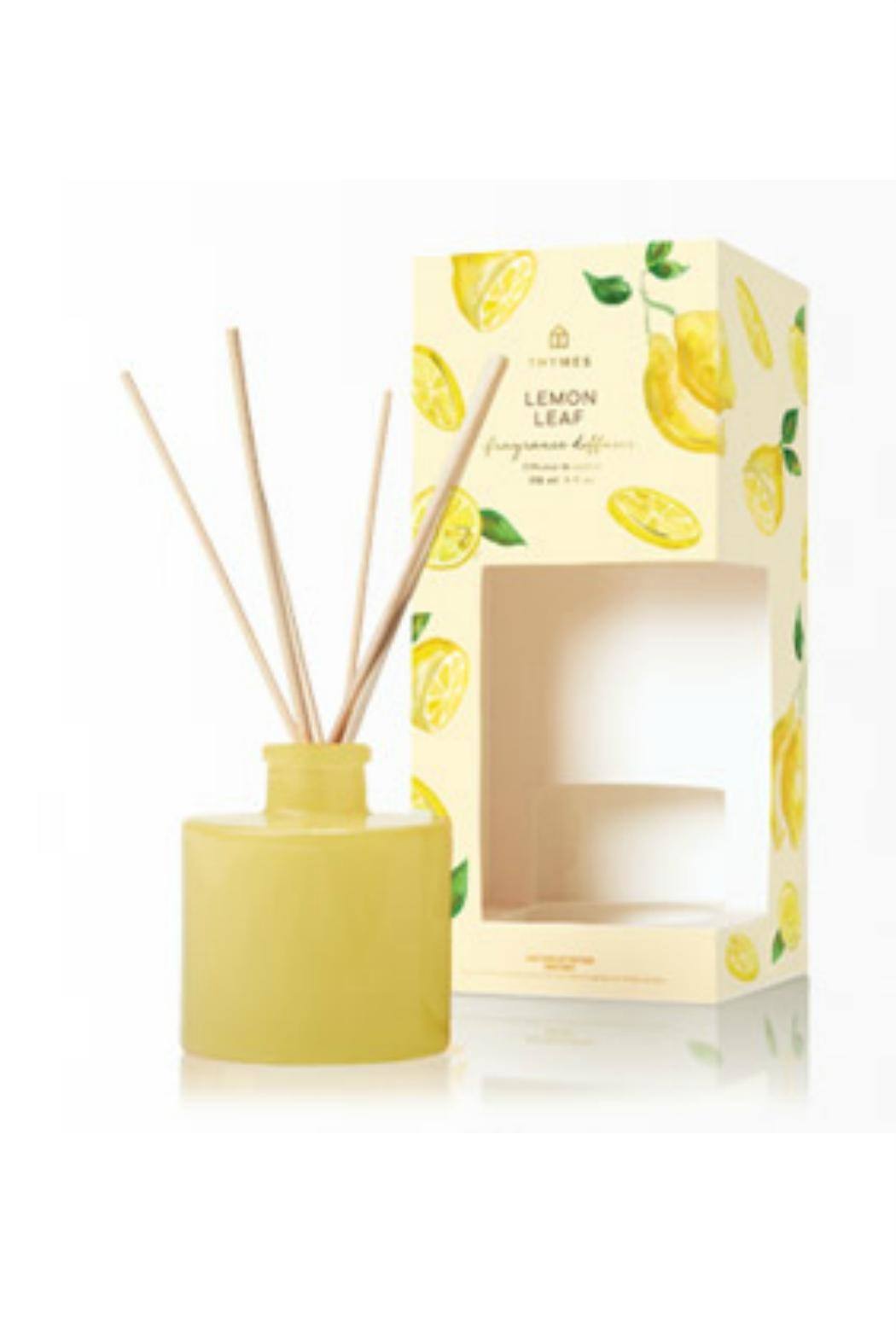 Thymes Lemon Leaf Diffuser - Front Cropped Image