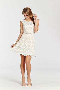 Ti Adora  Short Lace Gown - Product List Image