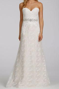 Shoptiques Product: Strapless Lace Gown
