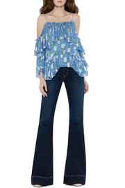 Alice + Olivia Tia Ruffle Blouse - Product Mini Image