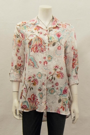 TIANELLO Linen Loving Blouse - Product Mini Image