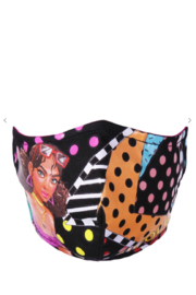 Nicole Lee Tiara Dancing Face Mask - Front cropped