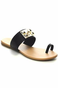 Tiara Buckle Accent Sandals - Alternate List Image