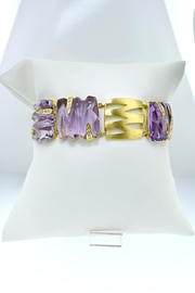 Tiara Fine Jewelry Amethyst Diamond Bracelet - Product Mini Image