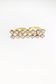 Tiara Fine Jewelry Amethyst Double Ring - Product Mini Image