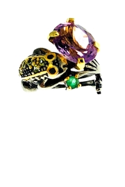 Tiara Fine Jewelry Amethyst Frog Ring - Product Mini Image