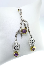 Tiara Fine Jewelry Amethyst Pendant - Front cropped