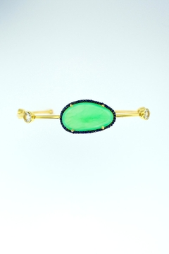 Shoptiques Product: Chalcedony Sapphire Cuff
