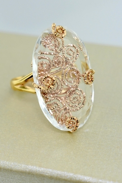 Shoptiques Product: Rock Crystal Ring