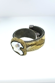 Tiara Fine Jewelry Crystal Snake Cuff - Front full body