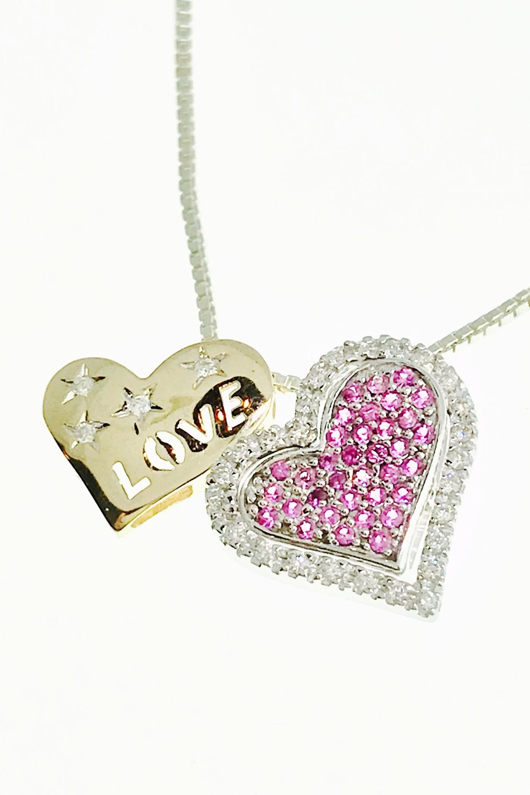 Tiara Fine Jewelry Diamond Heart Pendant - Main Image