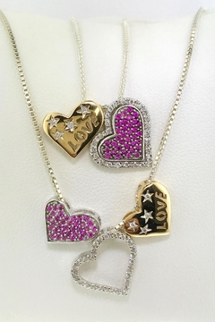 Tiara Fine Jewelry Diamond Heart Pendant - Alternate List Image