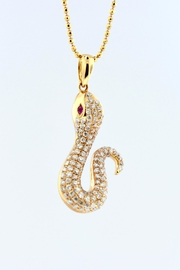 Tiara Fine Jewelry Diamond Snake Necklace - Product Mini Image