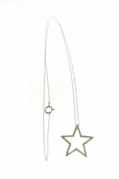 Tiara Fine Jewelry Diamond Star Necklace - Alternate List Image