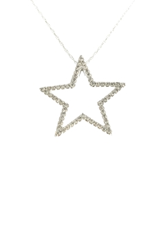 Tiara Fine Jewelry Diamond Star Necklace - Product List Image