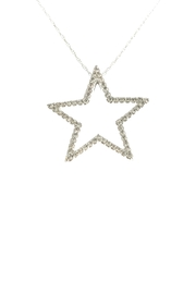 Tiara Fine Jewelry Diamond Star Necklace - Product Mini Image