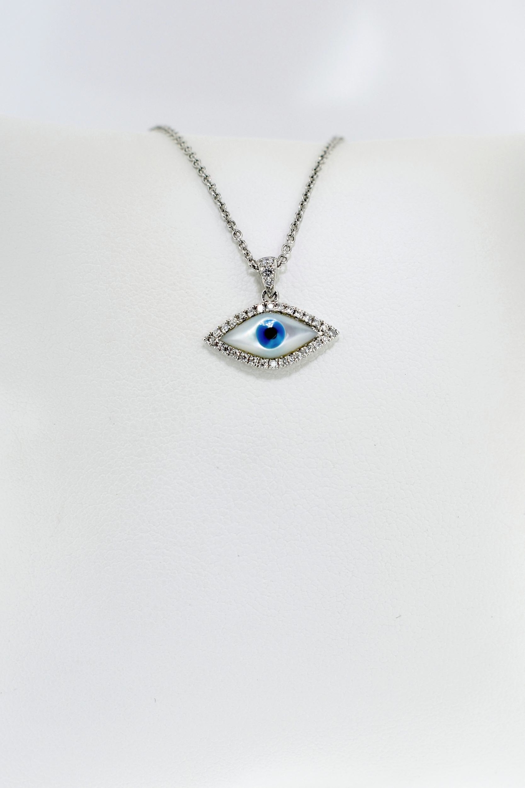 Tiara Fine Jewelry Evil Eye Necklace - Front Full Image